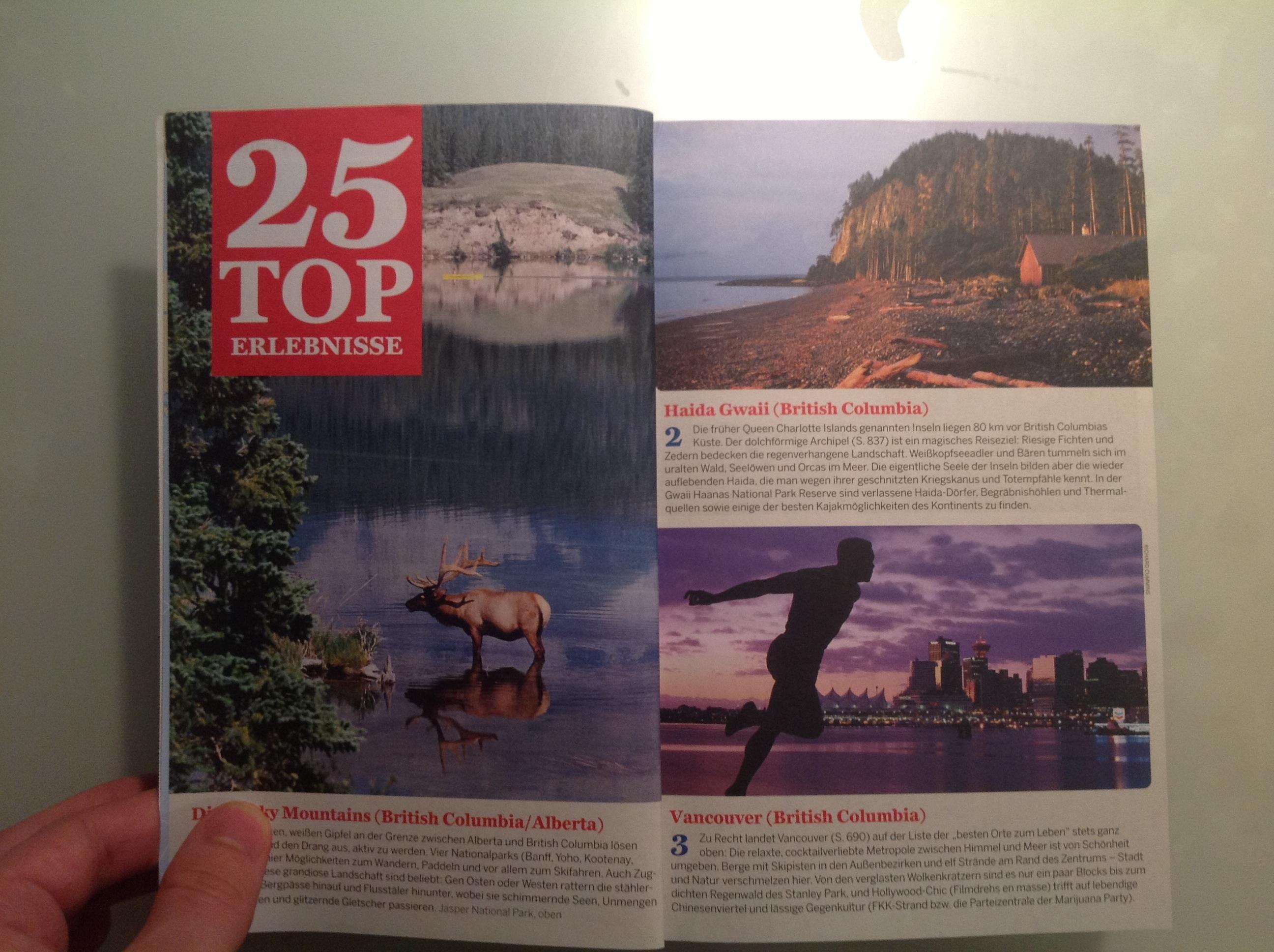 Eindruck Lonely Planet Reiseführer (1)