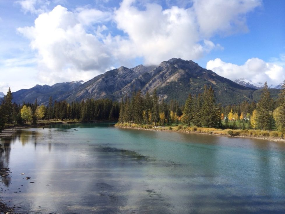 Bow River Banff